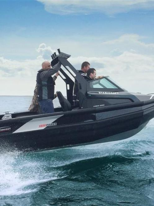 Stabicraft Marine southern retail and sales manager Adam Marshall takes Australian dealers for a...