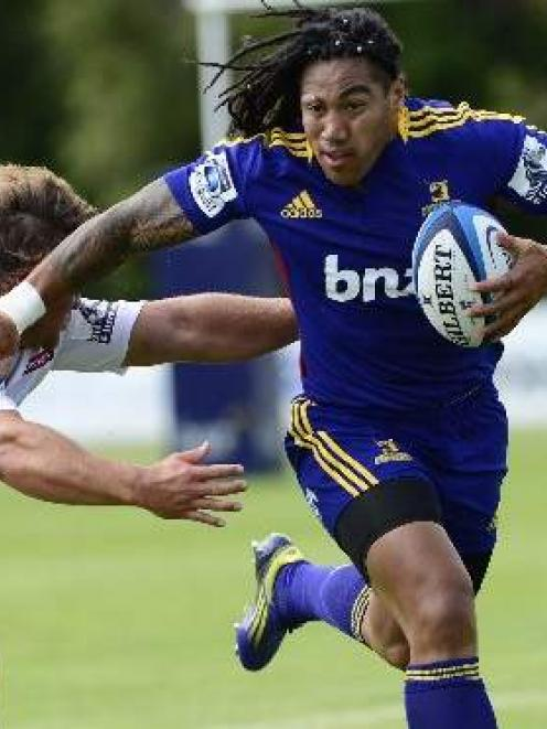 Star recruits like Ma'a Nonu have helped drive Highlanders ticket sales. Photo by Peter McIntosh