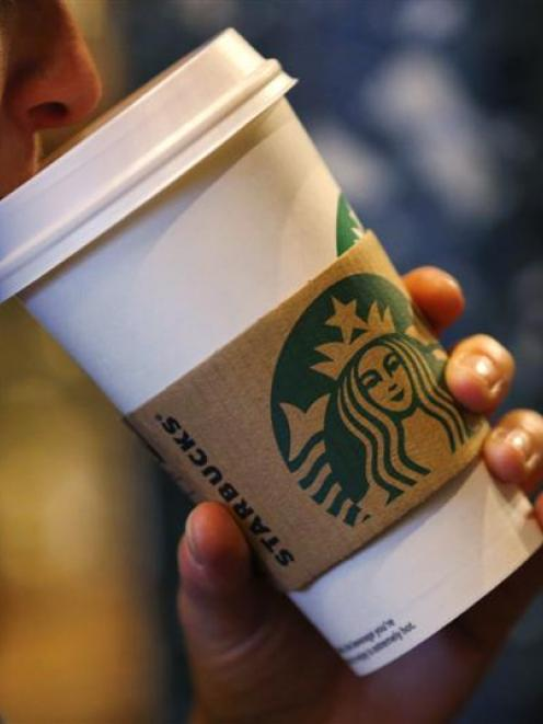 Starbucks is urging United States lawmakers to reach a deal. Photo by Reuters.