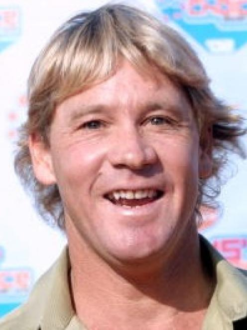 Steve Irwin. (Photo by Frederick M. Brown/Getty Images)