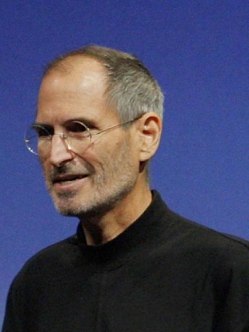 Steve Jobs. Photo by Reuters.