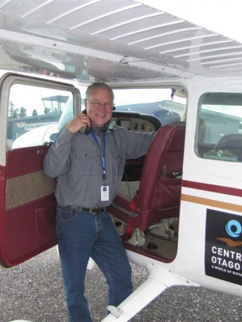 """Steve Whitren, of Alexandra, after the """"brain teasing"""" <i>New Zealand Herald</i> Navigation..."""