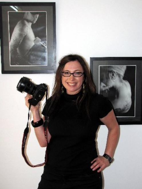 Still Vision photographer Jackie Gay, who has just opened a studio in Queenstown. Photo by Tracey...