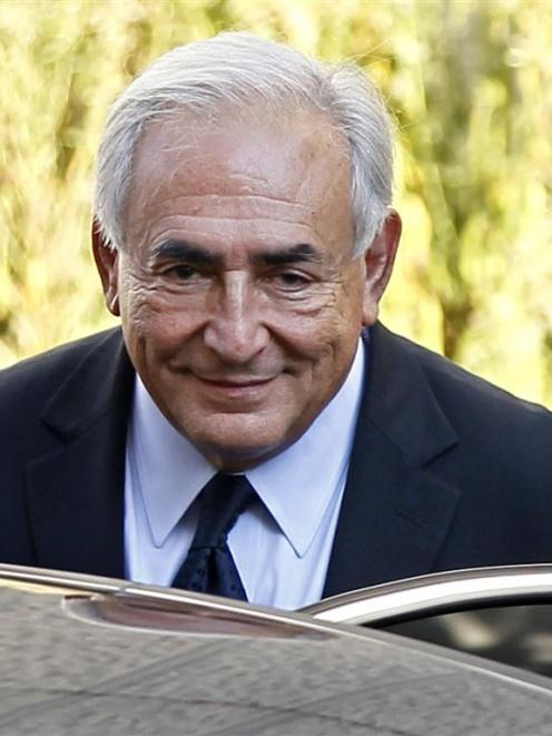 Strauss-Kahn was once tipped to become French president.