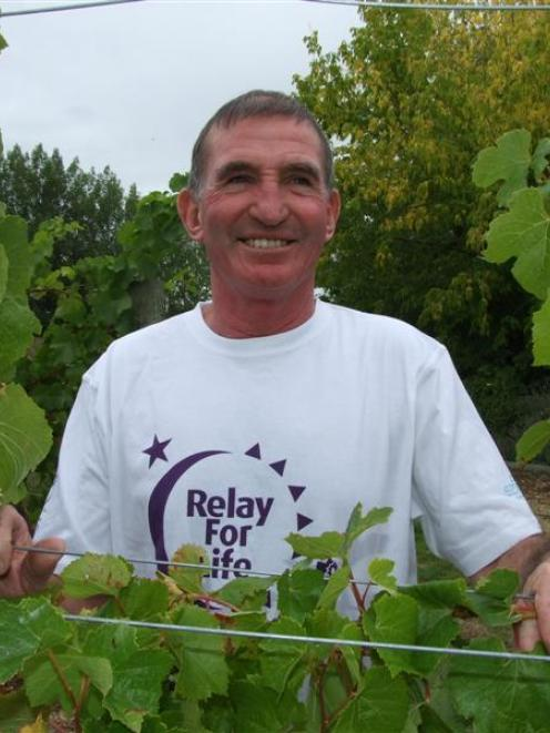 "Stu Beattie says he is one of the ""newest"" cancer survivors and will be celebrating in this..."