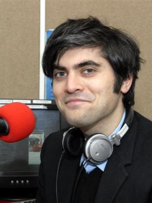 Student radio broadcaster Aaron Hawkins is running for mayor and as a city councillor in Dunedin....