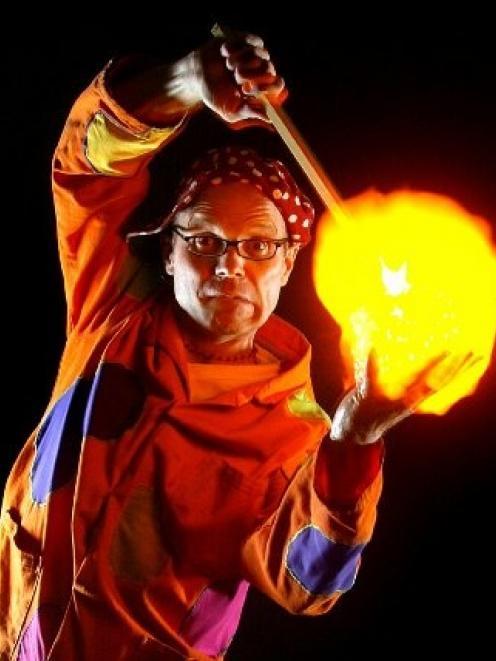 Stunt scientist Tom Pringle. Photo by Douglas McBride.
