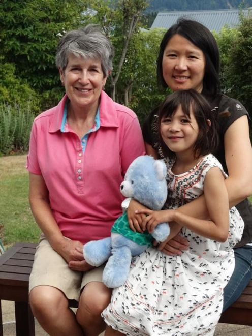 Suki Lee (right) had to travel to Southland Hospital in Invercargill  with daughter Sofia Sharpe...
