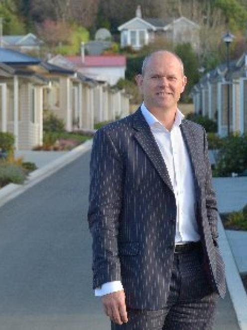 Summerset chief executive Julian Cook at Summerset at Bishopscourt retirement village in Dunedin...