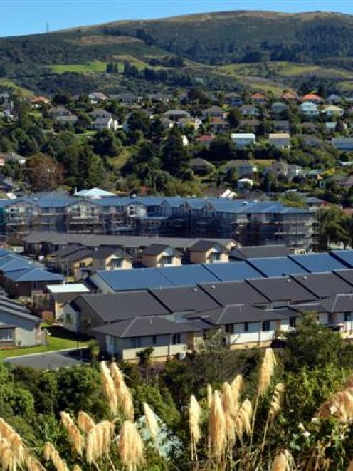 Summerset's $60 million Bishopscourt village facility in Dunedin. Photo by Peter McIntosh.