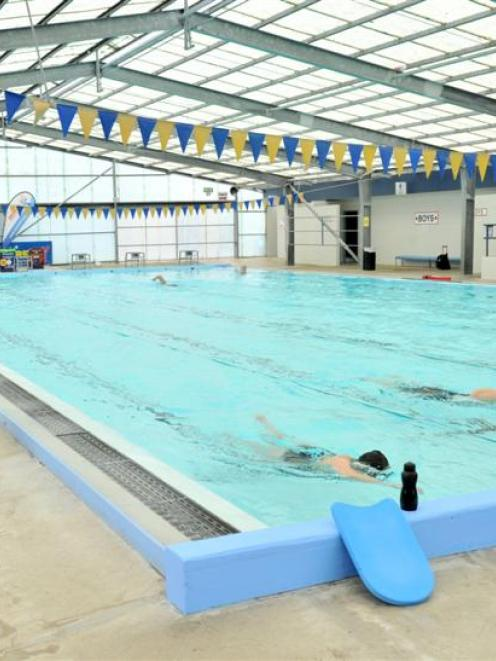 Supervisor Punua Tangimetua at work at the Mosgiel Swimming Pool  at the end of last year. The...