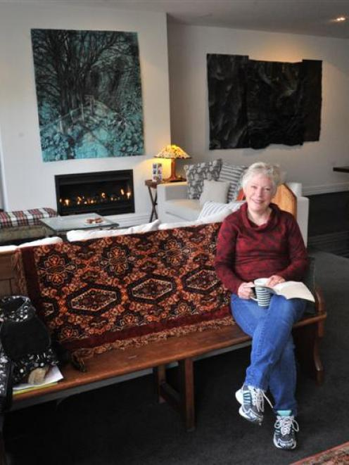 Susan Dovey adores her inner city apartment and the lifestyle that comes with it. Photo by Linda...