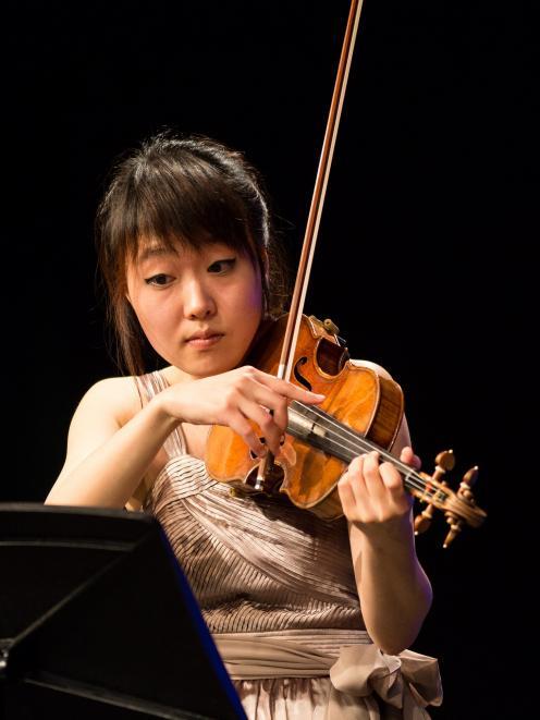 Suyeon Kang. Photo by Simon Darby.