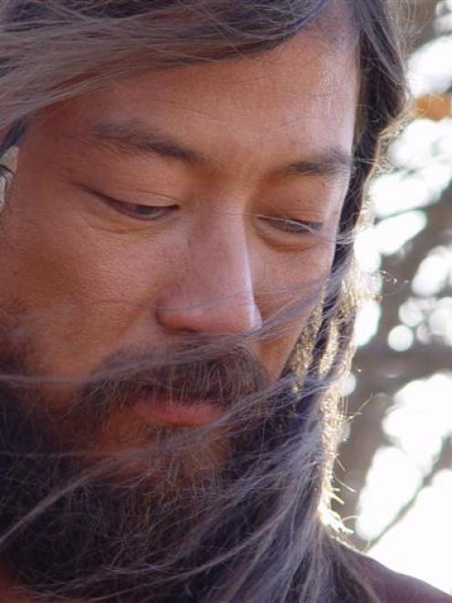 Tadanobu Asano as Genghis Khan.