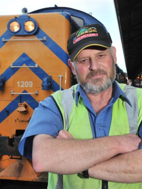Taieri Gorge Railway locomotive engineer Kevin Phillips said he had more near misses at Dunedin...