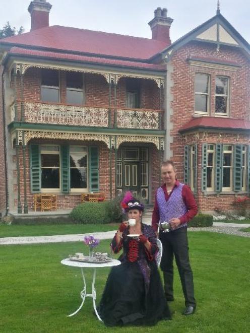 Tapanui couple Vicki Yarker-Jones and Tom Jones have planned a gala season at the historic...