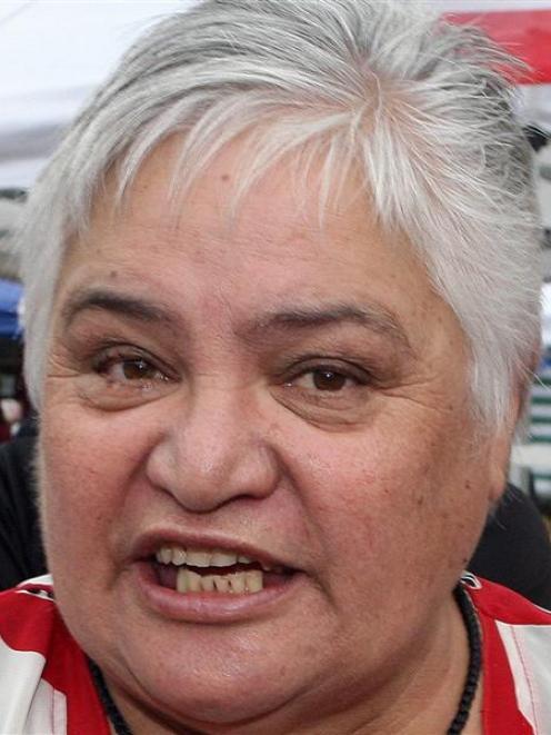 Tariana Turia. Photo by NZPA.