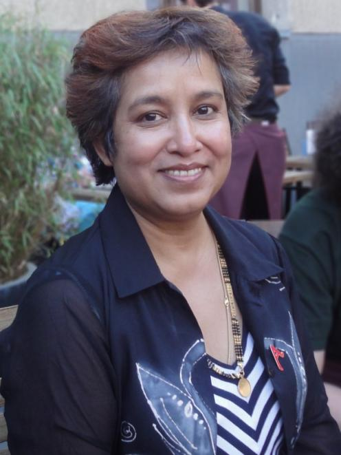 Taslima Nasrin fled her home country. Photos by Wikimedia Commons.