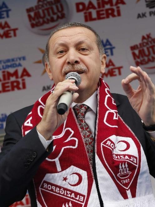 Tayyip Erdogan. Photo by Reuters