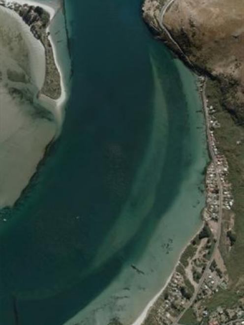 Te Rauone,  near the mouth of Otago Harbour. Photo: Supplied.