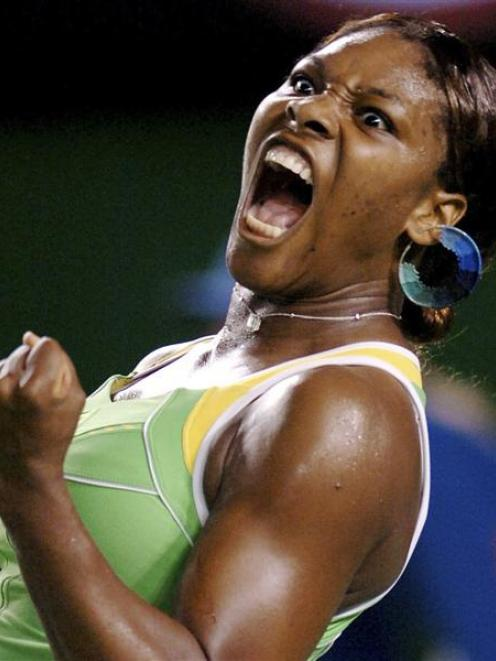 Tennis champion Serena Williams lets her prowess do the talking in debate about body image....