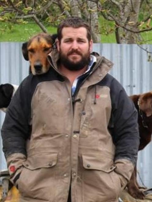 Teviot Valley farmer Chris Pemberton is chairman of Otago-Southland Young Farmers. Photo by Sally...