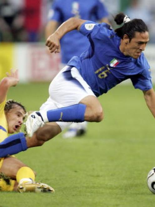 The 2006 World Cup quarterfinal between Italy and Ukraine was not enough to tempt a couple who...