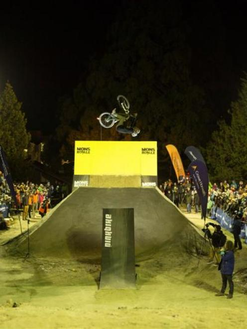 The 2014 Slopestyle event, held on Thursday night at the Ballarat St car park, attracted...