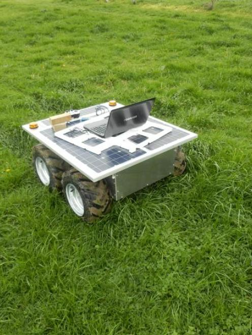 The Agri-Rover.
