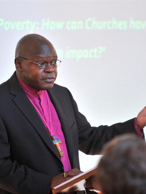 The Archbishop of York, the Most Rev Dr John Sentamu, highlights the need to fight against...