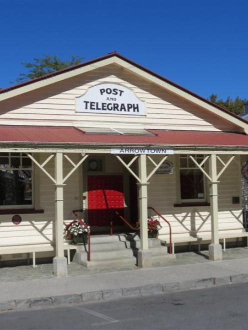 The Arrowtown Post and Telegraph Office.
