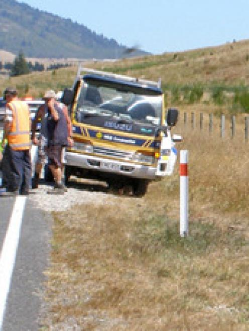 The attack happened on Broadlands Rd, near Taupo. The rider was flown to Rotorua Hospital. Photo ...