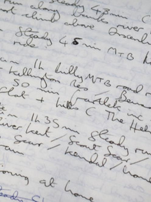 The author's handwriting is hard to decipher.