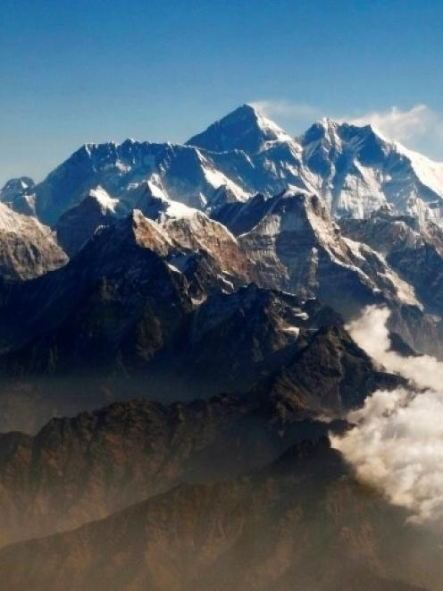 The avalanche on Mt Everest (C) may be the deadliest single incident on the world's highest peak....