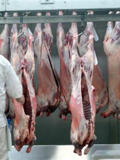 The average value for lamb, mutton and beef exports has increased in the first nine months of the...