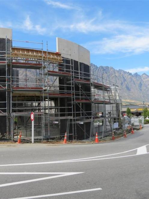 The block now being constructed at Remarkables Park Town Centre will add new and expanded...
