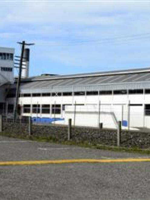 The car park at Alliance Group's Mataura plant. Photo by Peter McIntosh.