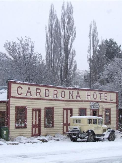 The Cardrona Hotel has been put up for sale. Photo by Matthew Haggart.
