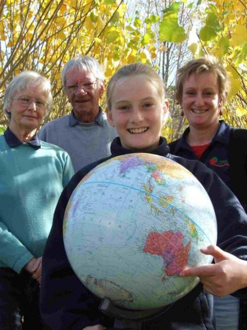 Jessica Watson's cousin Terri Taylor, of Ripponvale, grandparents Margaret and Gordon Chisholm,...