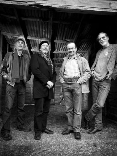 The Chaps (from left): John Dodd, Mike Moroney, Marcus Turner and Hyram Ballard. Photo by Clive...
