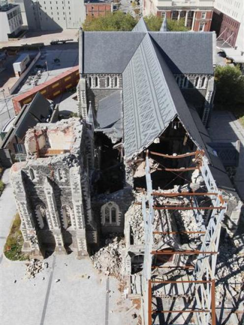 The Christchurch Cathedral has become a symbol of the battle some Christchurch residents will...
