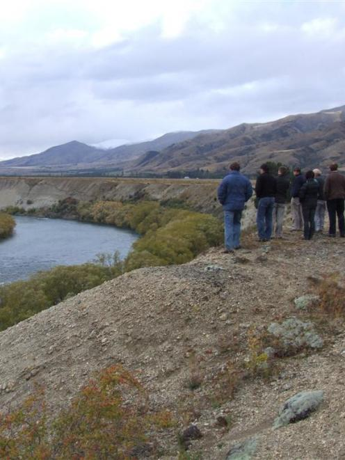 The Clutha River, where an intake pumping station is proposed to supply the Tarras Water scheme....