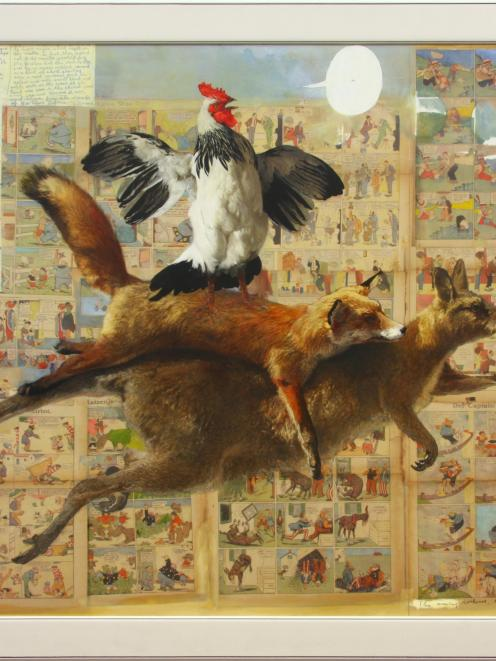 The Crowing Cockerel, the Fox and the Wallaby (2007), by Ray Ching.