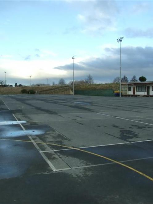 The Dreaver Courts, on Glasgow St, Balclutha, are the proposed site of the Clutha Recreation...