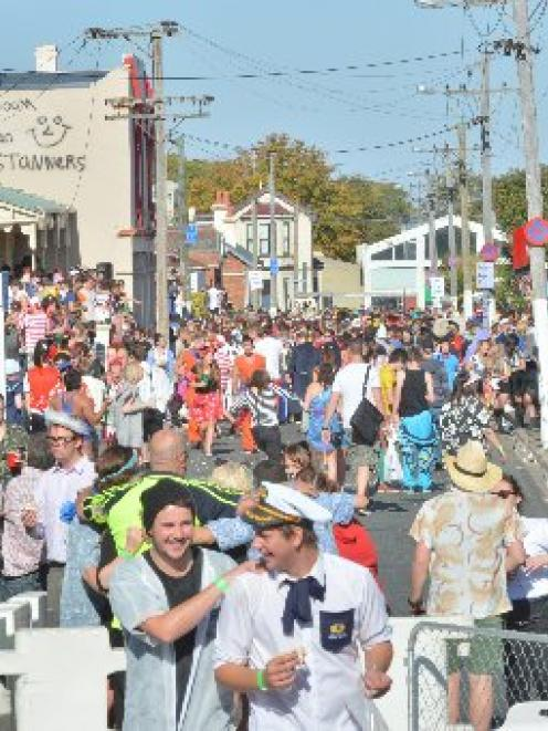 The Dunedin City Council is happy with the way student activities, such as the Hyde St keg party,...