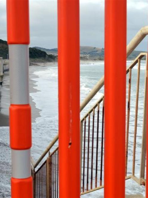 The Dunedin City Council is likely to commit more funding to protecting the sea wall at St Clair....