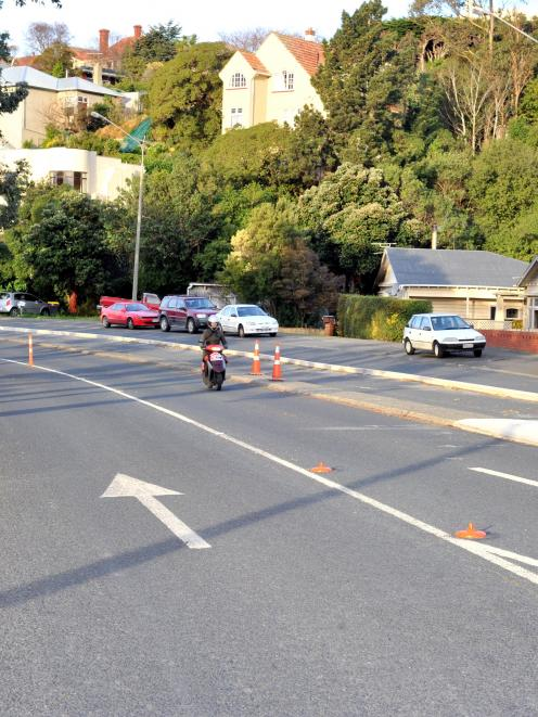 The Dunedin City Council is working on a plan to improve a stretch of Portobello Rd that has been...