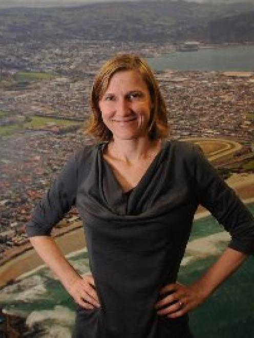 The Dunedin City Council's new sustainability adviser, Michelle Hayward. Photo by Peter McIntosh.
