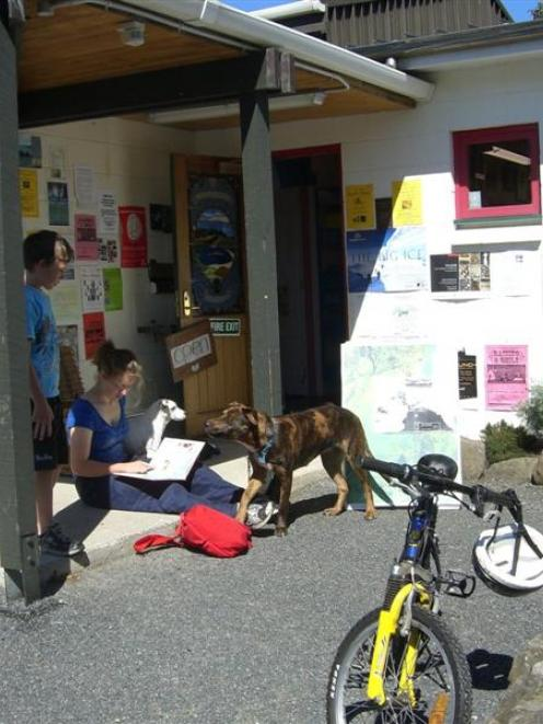 The Dunedin City Council wants to demolish Blueskin Bay Library to make way for a new one. Photo...