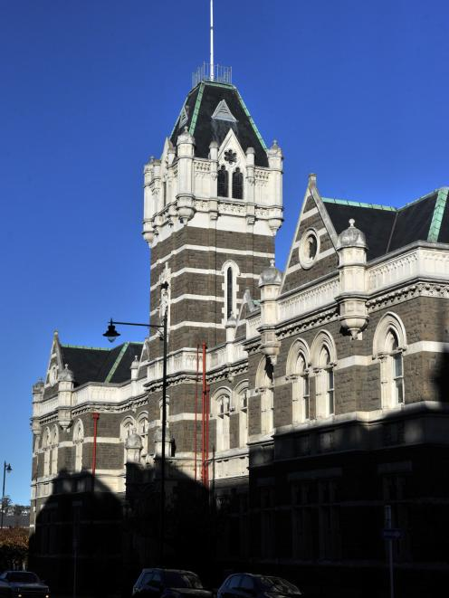 The Dunedin courthouse. Photo by Linda Robertson.